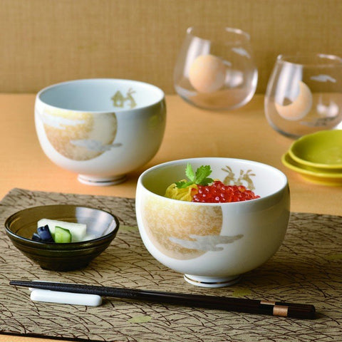 月燦飯碗連筷子套裝 Full Moon Bowls & Chopsticks Set