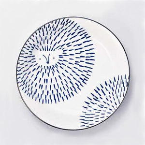 日本小刺蝟意粉碟 Japan Hedgehog Pasta Plate