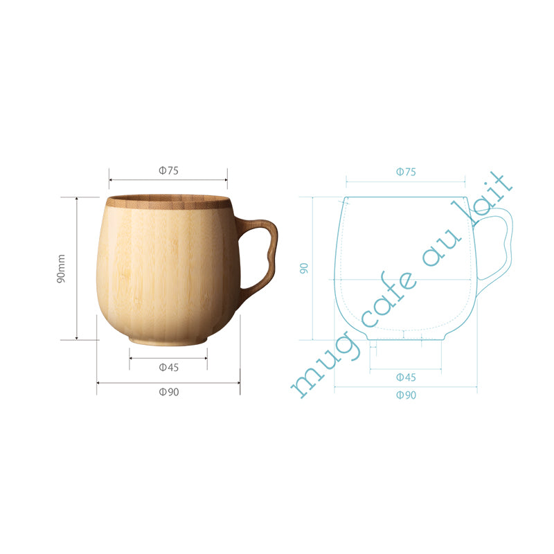 Riveret竹子咖啡杯 Riveret Bamboo Coffee Mug