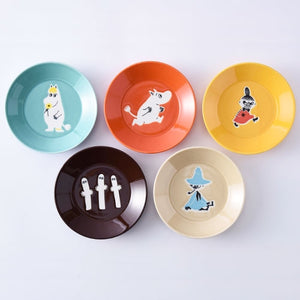 姆明五彩餐碟套裝 Moomin Five-Color Plate Set