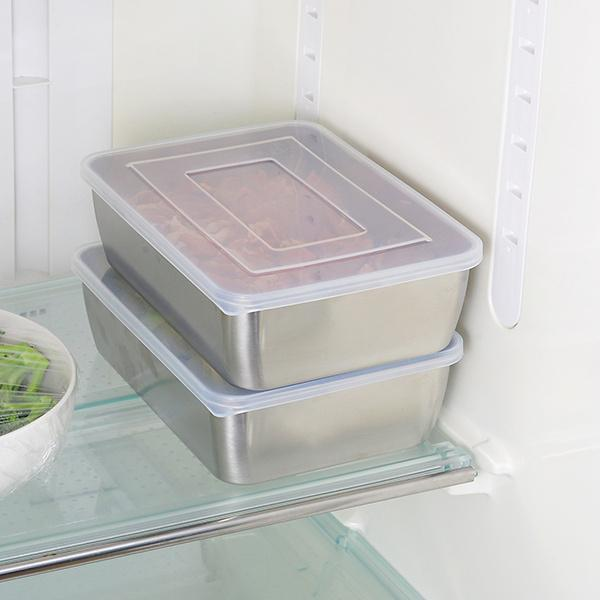 日本食物保鮮盒連筲箕 Japan Food Storage Box with Strainer
