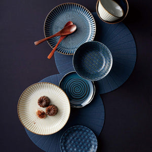 美濃燒和藍餐具套裝 Minoware Gradient Blue Tableware Set
