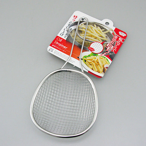 日本不銹鋼長柄炸勺 Japan Stainless Steel Long Handle Deep-fry Skimmer
