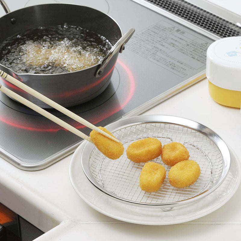 日本燕三条炸物托盤 Japan Stainless Steel Frying Tray