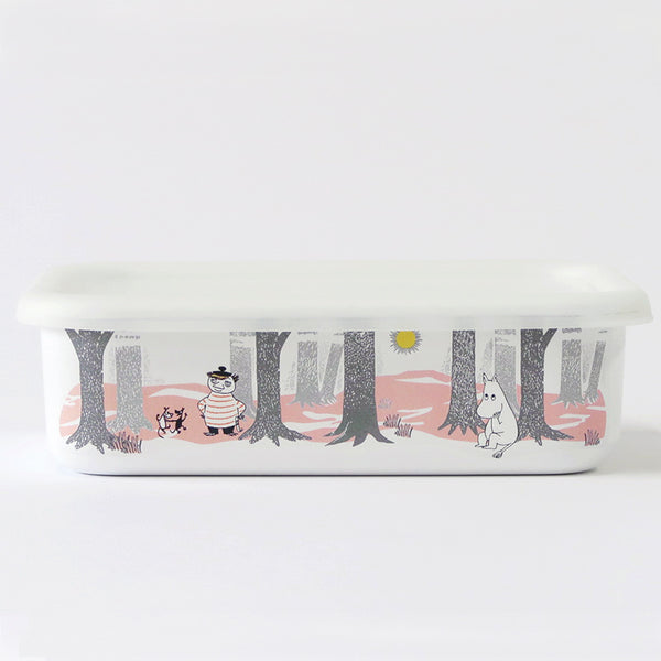 姆明琺瑯焗盤貯存盒 Moomin Baking Tray Storage Box