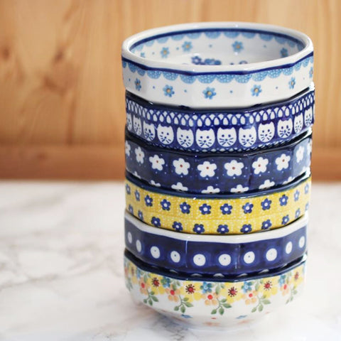 波蘭手工瓷碗 Polish Pottery Handmade Bowl