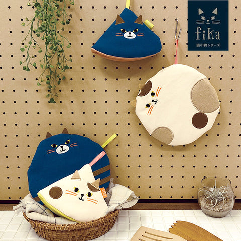 Fika 貓兒布藝隔熱墊 Fika Cat Fabric Coaster