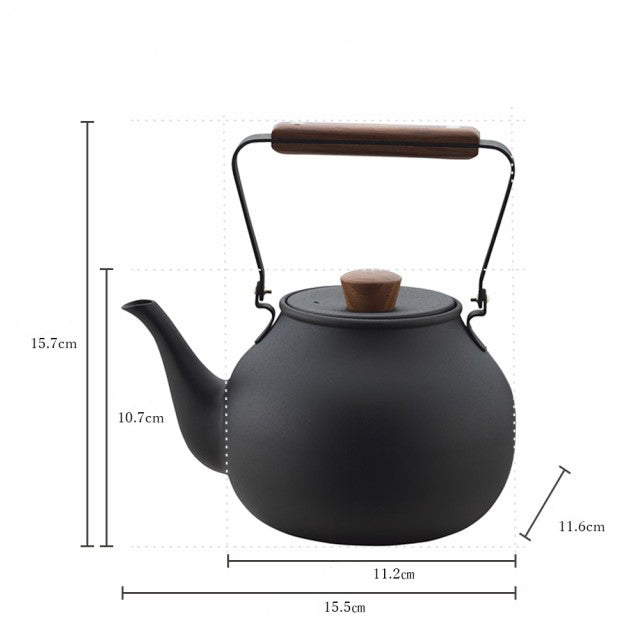 宮崎製作所茶壺 (2款選擇)*Miyaco Stainless Steel Teapot (2-option)
