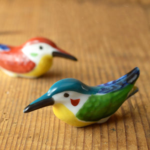 翠鳥手工陶瓷筷子托架 Kingfisher Ceramic Chopsticks Rest