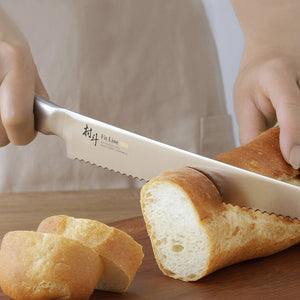 村斗匠人麵包刀Maruto Fit-Line Bread Knife