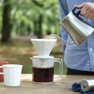 Kinto Alfresco咖啡濾杯套裝 - 米白色 Kinto Alfresco Brewer Set - Ivory