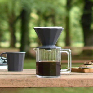 Kinto Alfresco咖啡濾杯套裝 - 黑色 Kinto Alfresco Brewer Set - Black