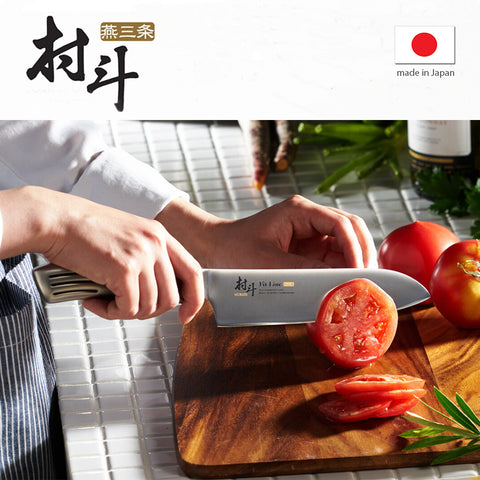 村斗匠人三德刀 Maruto Fit-Line Santoku Knife