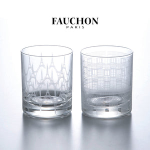 Fauchon Paris 玻璃酒杯套裝 Fauchon Paris Rock Glass Set