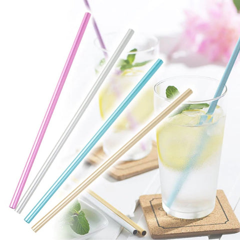 日本鋁製吸管 20cm (4色選擇)*Japan Aluminum Straw 20cm (4 options)