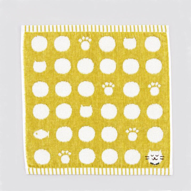 日本今治貓咪方巾 Imabari Wash Kitten Towel