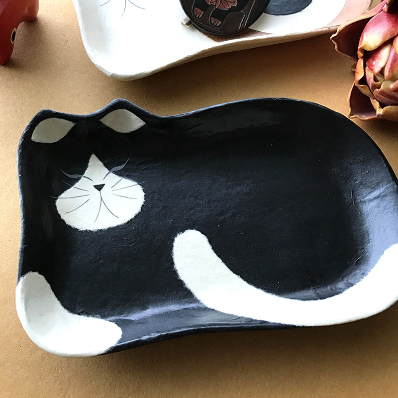 手工和紙貓小碟 Handmade Washi Kitten Tray