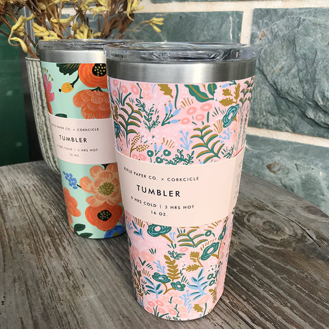Corkcicle x Rifle Paper Co. Tumbler 限定版保溫杯 470ml