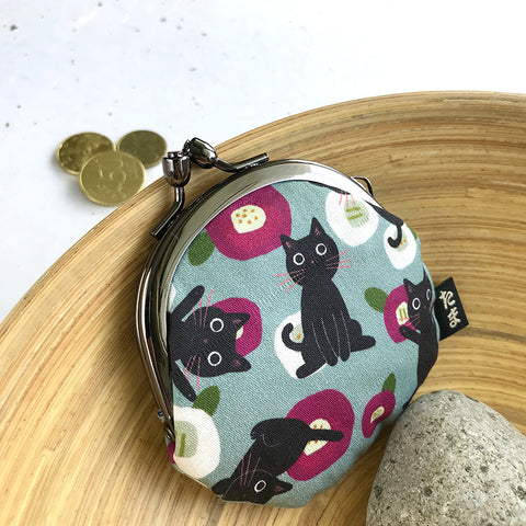 花椿與貓散銀包 Tsubaki and Cat Coins Bag