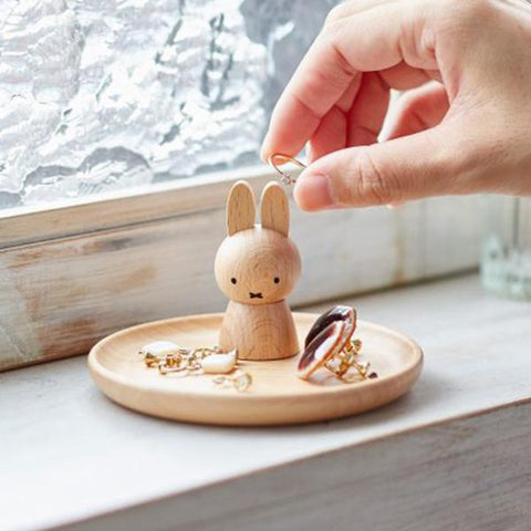 Miffy木製飾物座 Miffy Wooden Accessories Holder