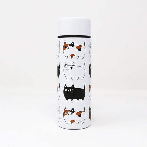 貓三兄弟迷你保溫瓶Three Cats Mini Thermal Bottle140ml