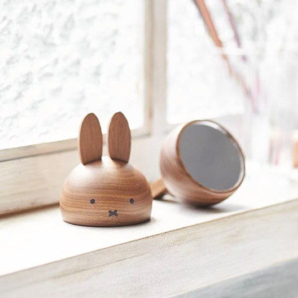Miffy 木製座枱鏡 Miffy Wooden Mirror