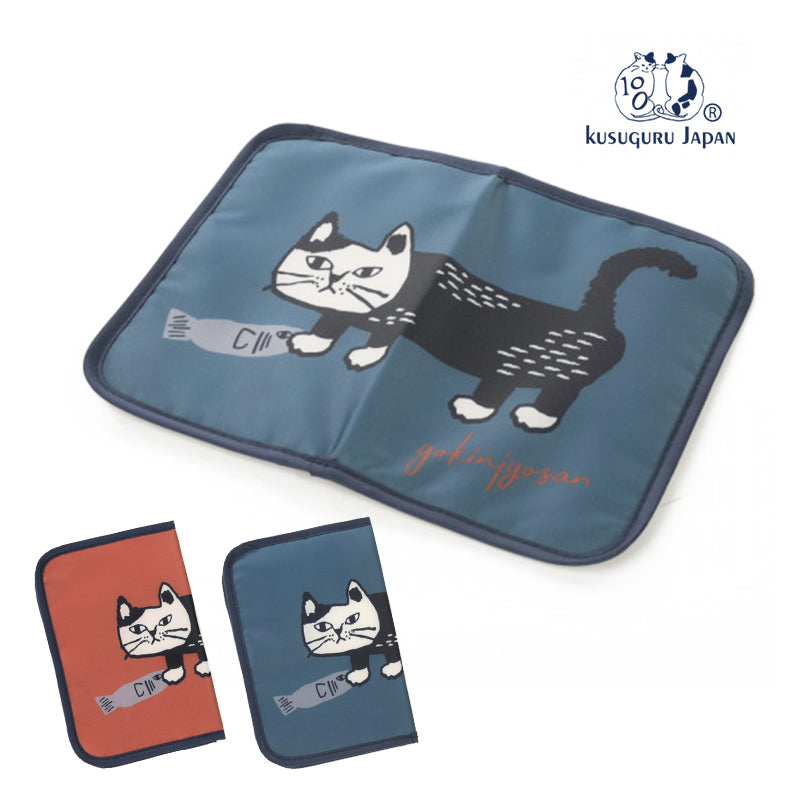 Kusuguru 貓咪口罩袋 (2色選擇)*Kusuguru Kitten Mask Pouch (2-color)