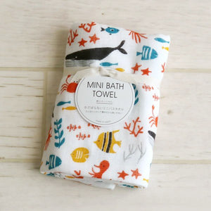 日本四重紗巾浴巾 - 海洋世界 Japan Four-layer Gauze Bath Towel - Sea World