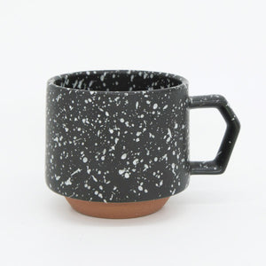 Chips Japan 美濃燒咖啡杯 Chips Japan Stack Mug - Splash Black