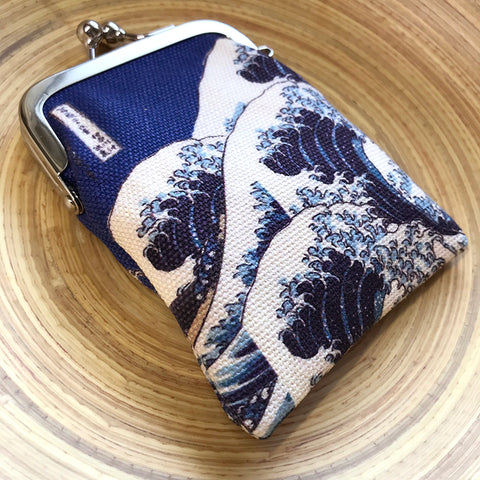神奈川沖浪裏零錢包 The Great Wave Coins Bag
