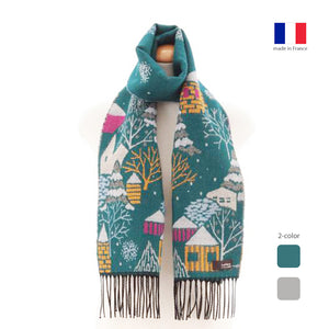 法國製圍巾 French Muffler - Nordic Village