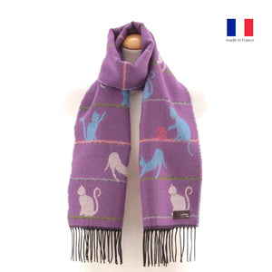 法國製圍巾 - 小貓 French Muffler - Kittens
