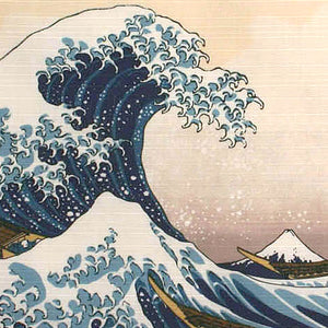 神奈川沖浪風呂敷 The Great Wave Furo-shiki