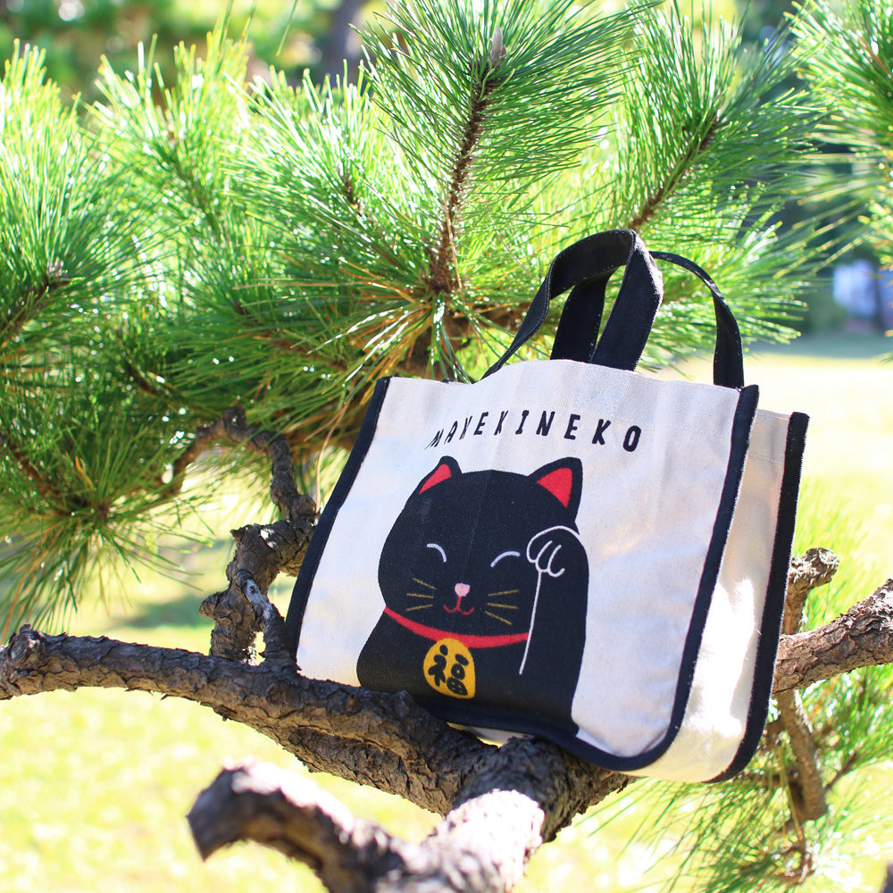 招財貓手挽袋 Fortune Cat Tote Bag