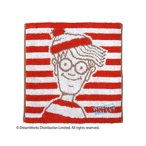 Where's Wally 方巾 Wash Towel