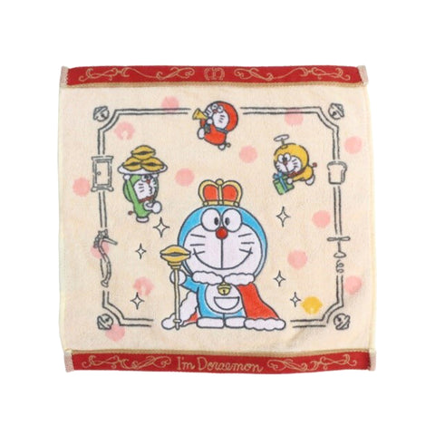 哆啦A夢50週年記念方巾 Doraemon 50th Anniversary Wash Towel