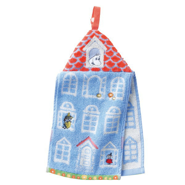 姆明小屋抹手巾*Moomin House Hanging Hand Towel