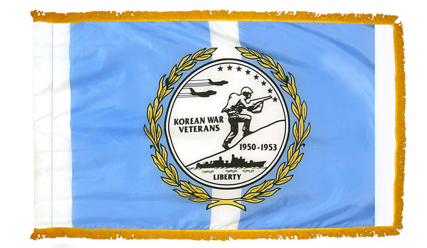 Korean War Veterans Indoor Fringed