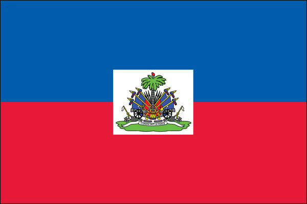 Haitian Flag (with seal)
