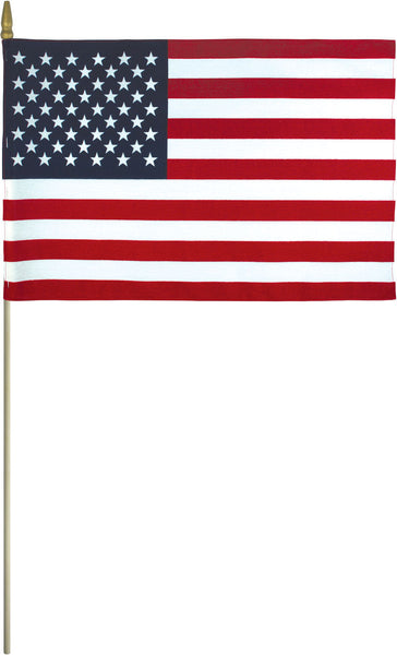 "12 x 18"" US Stick Flag (Gravemarker)"