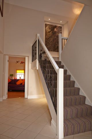 property photography staircase