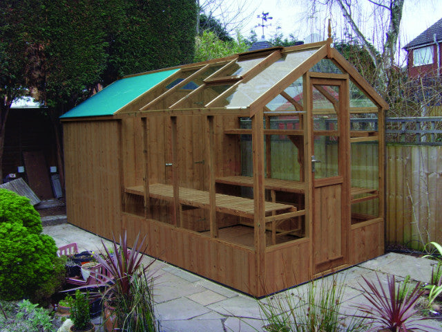 Greenhouse & Shed Combi