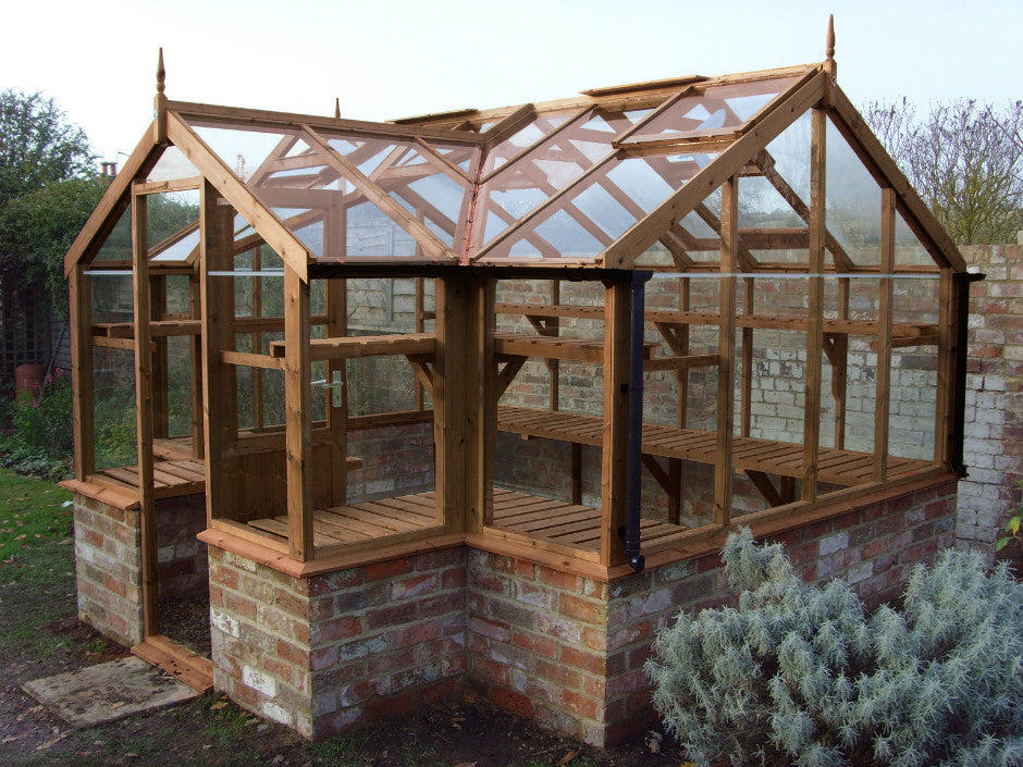 Wooden Greenhouses For Sale Gardenbox