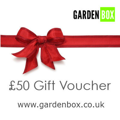 £50 Gift voucher for www.gardenbox.co.uk