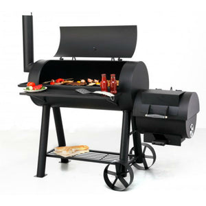 Cook like a traditional charcoal BBQ with the Tepro Milwaukee