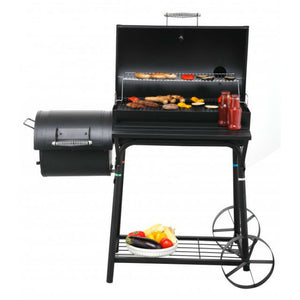 Tepro Biloxi Charcoal BBQ Smoker as a BBQ Grill