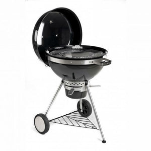 Tepro San Francisco Kettle Charcoal BBQ with lid open