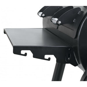 Foldable front shelf on the Tepro Indianapolis BBQ Smoker