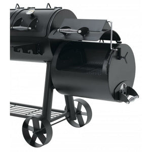Position 4 of the side smoker on the Indianapolis BBQ