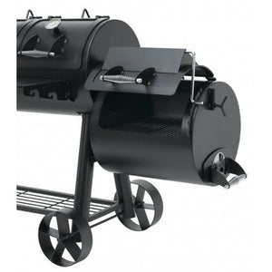 Position 3 of the side smoker on the Indianapolis BBQ
